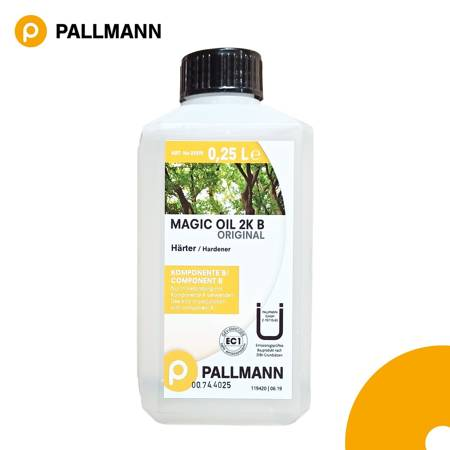 PALLMANN MAGIC OIL 2K ORIGINAL High-Solid 2-Komponenten Parkettöl A/B Parkett
